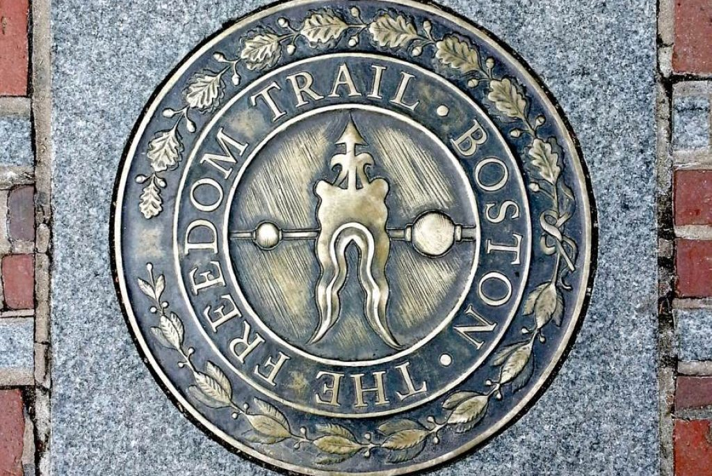 What are the 16 sites on the Freedom Trail?