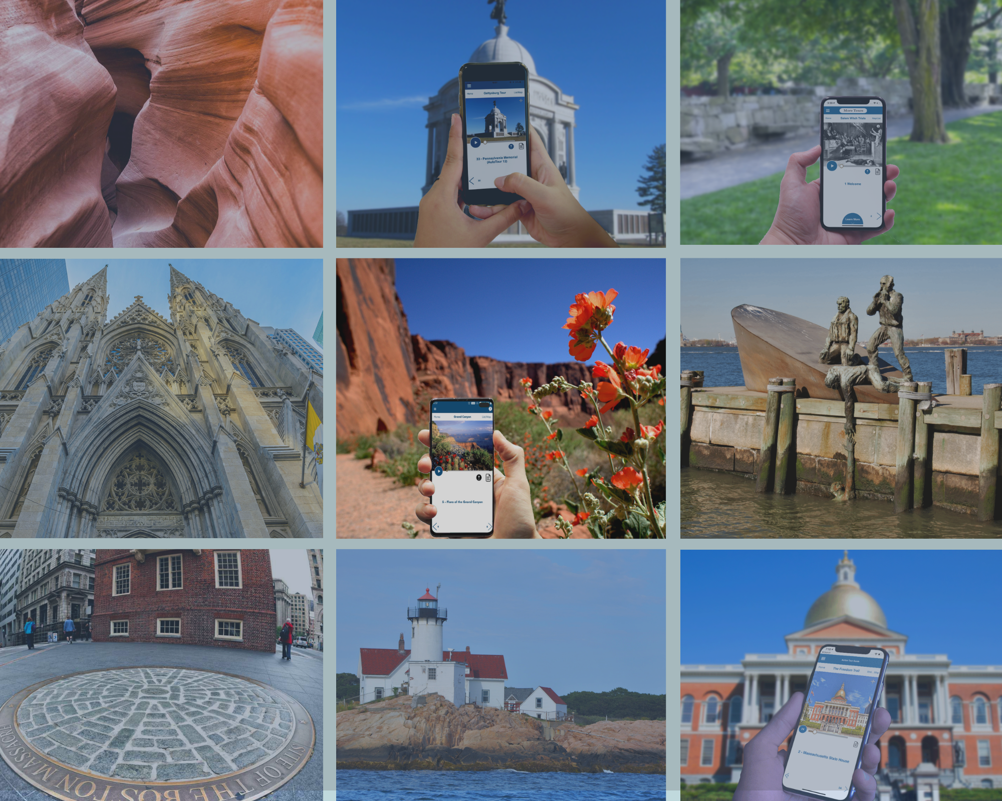 Bundle of All 50 US Self-Guided Tours for just $29.99 / Year